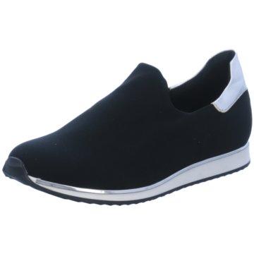 Lamica Sportlicher Slipper schwarz