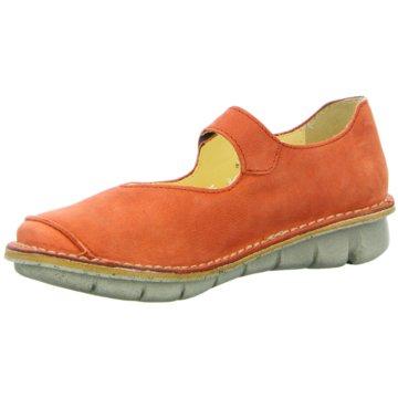 Wolky Komfort Slipper orange