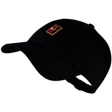 Nike CapsU NK H86 CAP COURT LOGO - 852184 schwarz