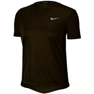 Nike T-ShirtsMiler Women's Short-Sleeve Running Top - AJ8121-368 schwarz