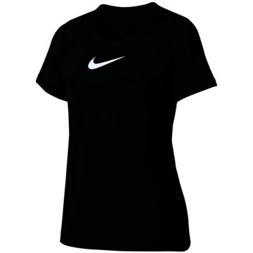 Nike T-ShirtsNIKE PRO GIRLS' SHORT-SLEEVE TRAINI - AQ9035 schwarz