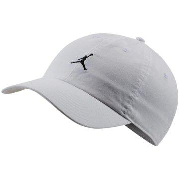 Nike CapsJORDAN HERITAGE86 JUMPMAN FLOPPY HA - AR2117 weiß