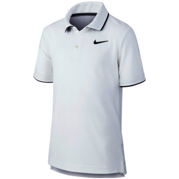 Nike PoloshirtsNikeCourt Dri-FIT Big Kids' (Boys') Tennis Polo - BQ8792-100 -