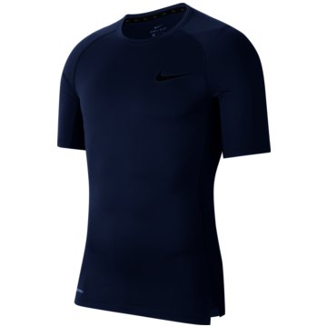 Nike T-ShirtsNike Pro Men's Tight Fit Short-Sleeve Top - BV5631-469 -