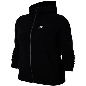 Nike SweatjackenSPORTSWEAR ESSENTIAL (PLUS SIZE) - CJ0401-010 schwarz