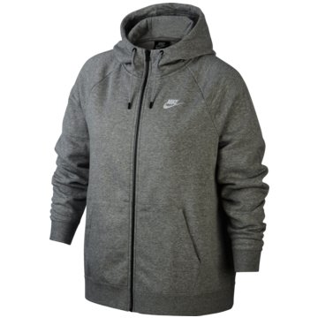 Nike SweatjackenSPORTSWEAR ESSENTIAL (PLUS SIZE) - CJ0401-063 grau