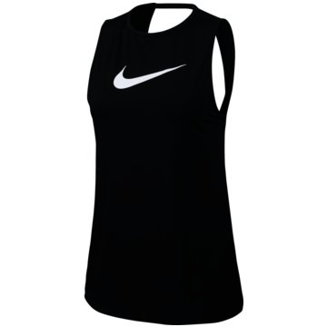 Nike TopsPro Swoosh Tanktop Women schwarz