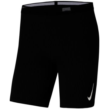 Nike TightsNike Aeroswift Men's 1/2-Length Running Tights - CJ7843-010 schwarz