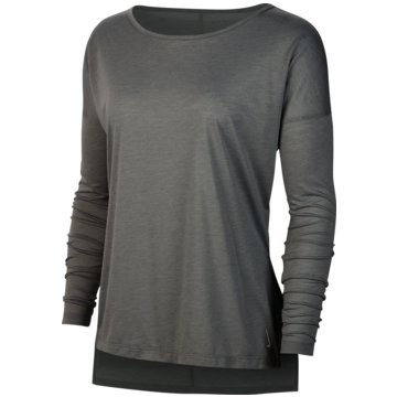 Nike SweatshirtsLONG-SLEEVE TRAINING TOP - CJ9324-073 schwarz