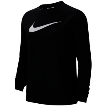 Nike SweatshirtsNike Swoosh Run Women's Running Crew - CU3259-010 schwarz
