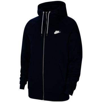 Nike SweatjackenNike Sportswear Men's Full-Zip Fleece Hoodie - CU4455-410 schwarz