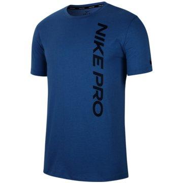 Nike T-ShirtsNike Pro Men's Short-Sleeve Top - CU4975-442 blau