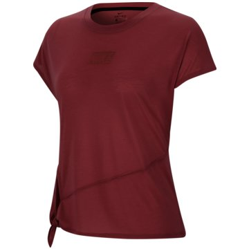 Nike T-ShirtsDri-FIT Women's Short-Sleeve Training Top - CU5025-614 rot