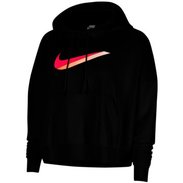 Nike HoodiesNike Sportswear Women's Fleece Hoodie - CU5108-010 schwarz