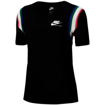 Nike T-ShirtsHeritage Women's Top - CU5885-010 schwarz