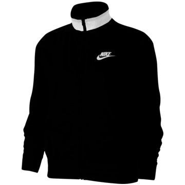 Nike ÜbergangsjackenSportswear Heritage Polyknit Jacket Women schwarz