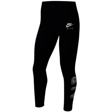 Nike TightsNike Air Big Kids' (Girls') Leggings - CU8299-010 schwarz
