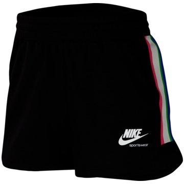 Nike kurze SporthosenHeritage Women's Fleece Shorts - CU8399-010 schwarz