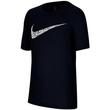 Nike T-ShirtsNike Big Kids' (Boys') Short-Sleeve Training Top - CU9119-410 -
