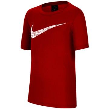 Nike T-ShirtsNike Big Kids' (Boys') Short-Sleeve Training Top - CU9119-657 -