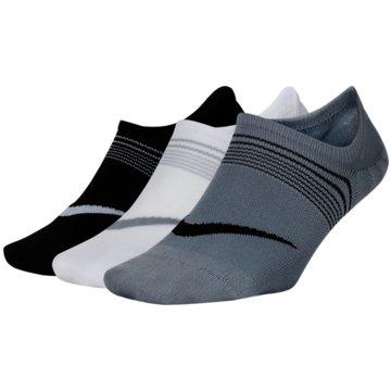 Nike Hohe SockenNike Everyday Plus Lightweight Women's Training Footie Socks (3 Pairs) - SX5277-989 -