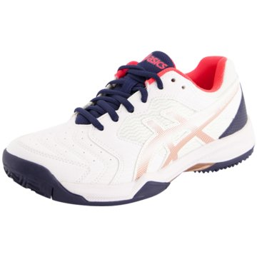 asics OutdoorGEL-DEDICATE 6 CLAY - 1042A073 weiß