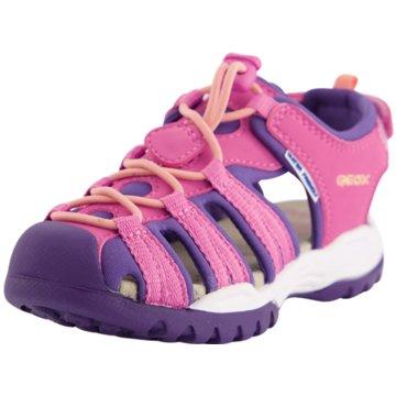 Geox Offene Schuhe pink