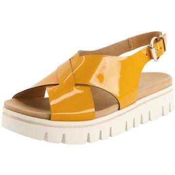 Gabor comfort Plateau SandaletteSandale gelb