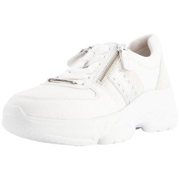 Gabor Plateau Sneaker weiß