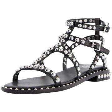 Ash Top Trends Sandaletten schwarz