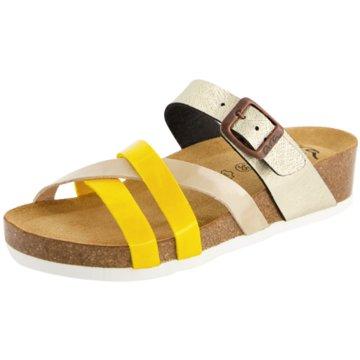 ara Klassische Pantolette gelb