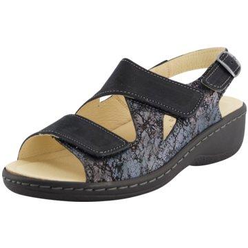 Portina Komfort Sandale blau