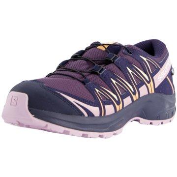 Salomon Outdoor Schuh lila