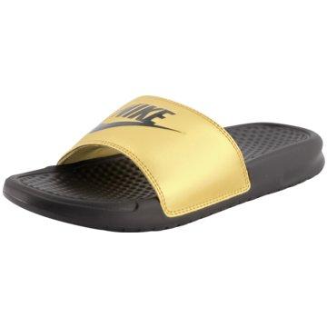 Nike BadelatscheNike Benassi JDI Women's Slide - 343881-014 gold