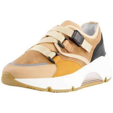 Alpe Woman Shoes Sneaker Low braun