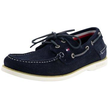 Tommy Hilfiger Bootsschuh blau