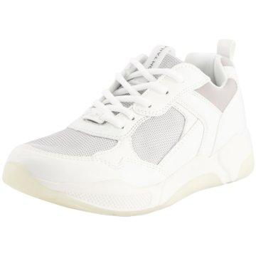 Tom Tailor Bequeme SchnürschuheSneaker weiß