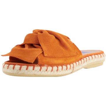 Verbenas Espadrilles Pantoletten orange
