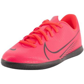 Nike Hallen-SohleNike Jr. Mercurial Vapor 13 Club IC - AT8169-606 rot