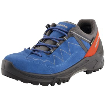 LOWA WanderhalbschuheLEDRO GTX LO JUNIOR - 350107 blau