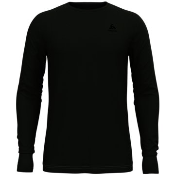 ODLO UntershirtsBL TOP CREW NECK L/S MERINO 20 - 110812 40189 -