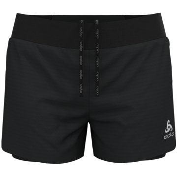 ODLO Laufshorts2-IN-1 SHORTS ZEROWEIGHT 3 INC - 322561 schwarz