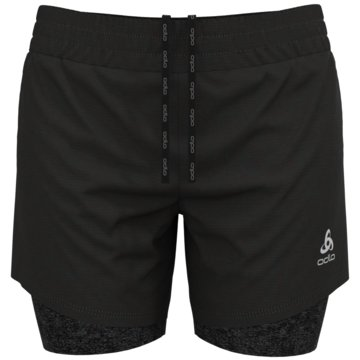 ODLO Laufshorts2-IN-1 SHORTS RUN EASY 5 INCH - 322591 schwarz