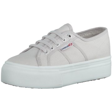 Superga Top Trends Sneaker grau