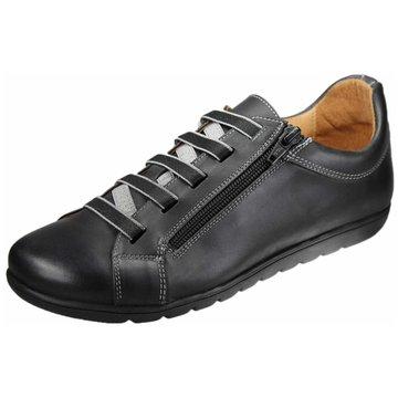 Dessy Sportlicher Schnürschuh schwarz
