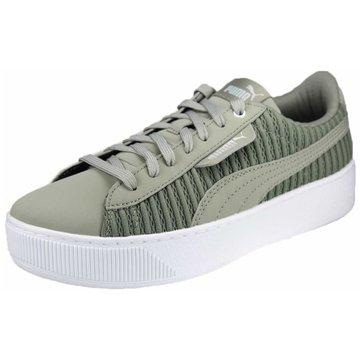 Puma Plateau Sneaker oliv