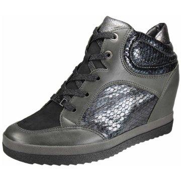 ara Sneaker Wedges grau