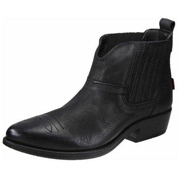 Levi's® Westernstiefelette schwarz