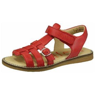 Däumling Offene Schuhe rot