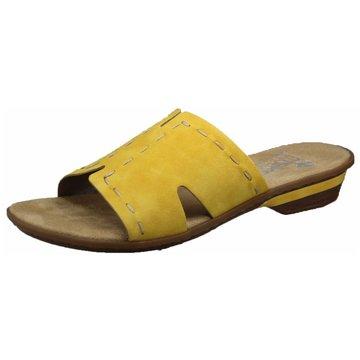 Rieker Komfort PantolettePantolette gelb